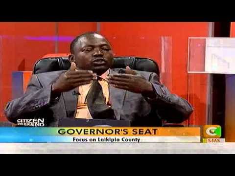 Governor's Seat: Focus on Laikipia County