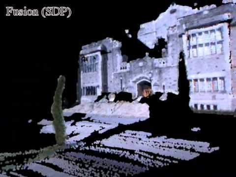 Stereo Camera vs 3D Laser Scanner vs SDP Fusion Algorithm