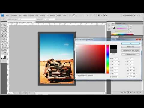 Photoshop CS4 - Rahmen Aus Alpha-Kanal Erstellen