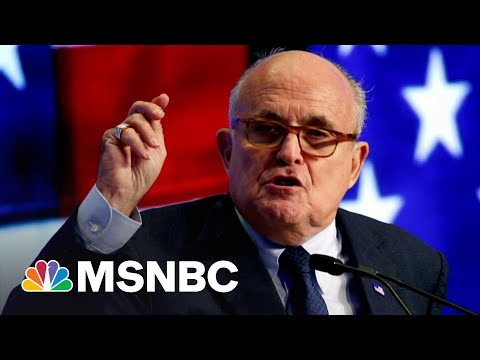 Federal Investigators Search Rudy Giuliani's Apartment As Part Of Ukraine Probe   MSNBC