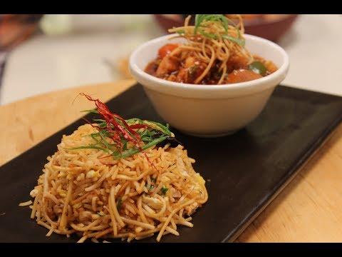 Chicken Triple Fried Rice | Chinese Cuisine | Sanjeev Kapoor Khazana