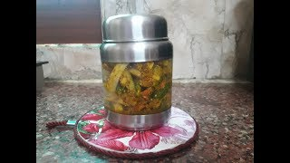 gajar mooli ka mix achaar recipe