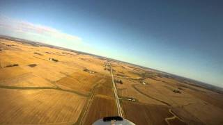 Gopro aboard Easystar flying high over beautiful Iowa Farms.MP4