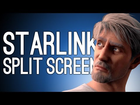 Starlink Split Screen Gameplay: SPACE DAD NOOO - Let's Play Co-op Starlink Battle for Atlas