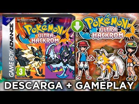 ¡DESCARGAR POKEMON ULTRASOL Y ULTRALUNA GBA! | Pokémon Ultra SOL y Ultra LUNA HACKROM | Ultima BETA
