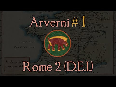 Arverni 1: A Siege to Start! Total War: Rome 2 (DEI Mod)