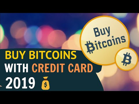 Buy Bitcoins With Credit Card Instantly