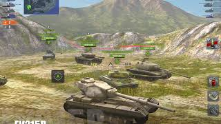 Two Monster Games Panther & Fv215b World of Tanks blitz