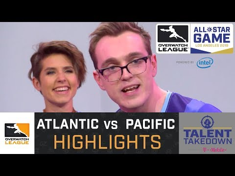 HIGHLIGHTS Atlantic vs Pacific  2019 All Stars  Talent Takedown  Overwatch League