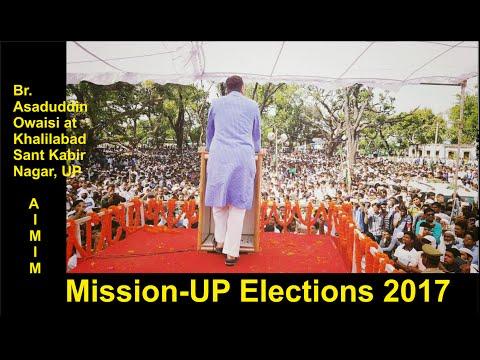 Asaduddin Owaisi Latest Speech at Khalilabad, Sant Kabir Nagar, UP...