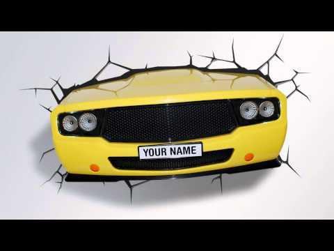 3D FX Deco Lights Automobile Fender Muscle Car Promotional Video