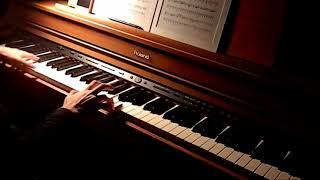 進撃の巨人「憧憬と屍の道」TVsizeピアノで弾いてみた