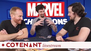 Marvel Champions LCG Gameplay Demo and Tutorial ft. FFG's Evan Johnson