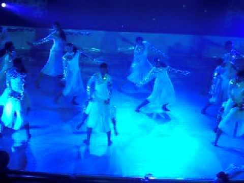 water theme dance by college students - YouTube