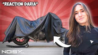 DARIA SCOPRE LA SUA NUOVA MT07 by NoisyStyle ! ❤️ *Reaction*