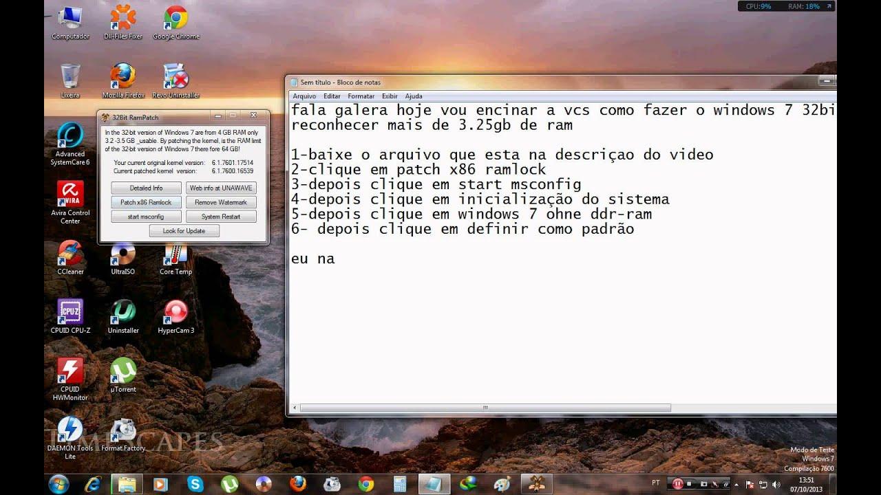 patch x86 ramlock download