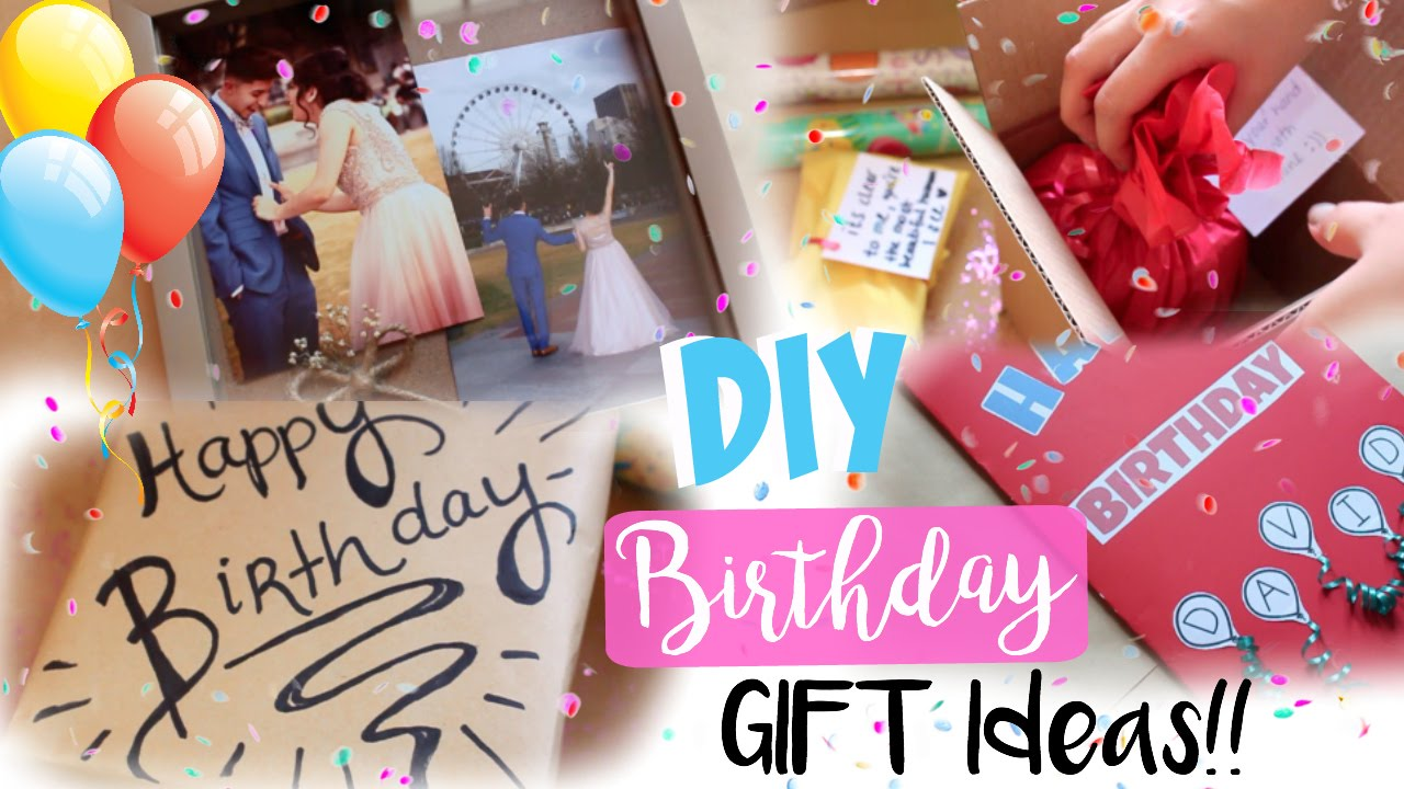 DIY Birthday Gifts Gift Decoration Ideas For EVERYONE