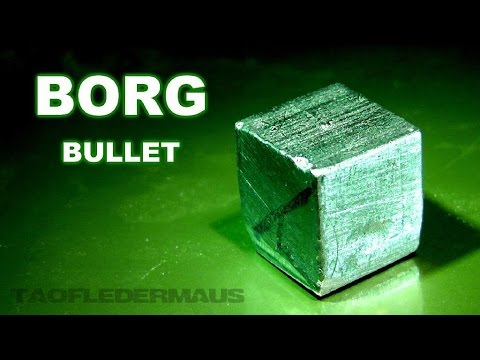Cube-Shaped Bullets -  Your Predictions are FUTILE!