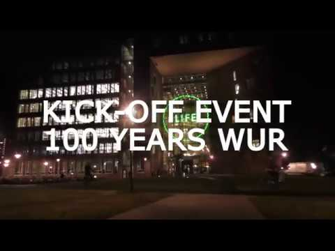 Kick-off event 100 years WUR