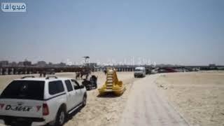 محافظ مطروح يتفقد شاطئ روميل وباب البحر ويطمئن على الخدمات المقدمة للمواطنين والمصطافين