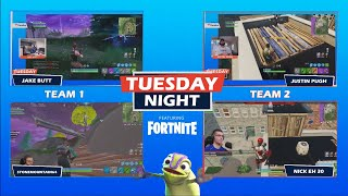 RECAP: Justin Pugh & Nick Eh 30 vs. Jake Butt & StoneMountain64 | Tuesday Night Fortnite Duos