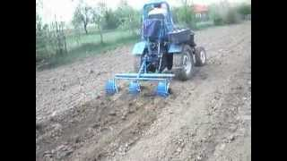 Hand made tractor by Dorel - Romania