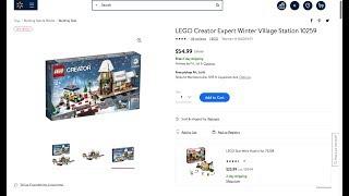 DEALITECT: $55 LEGO WINTER VILLAGE STATION!