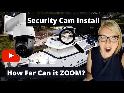 PTZ Security Cam Install and Review - How far can this Lorex Pan Tilt Zoom Camera Go?