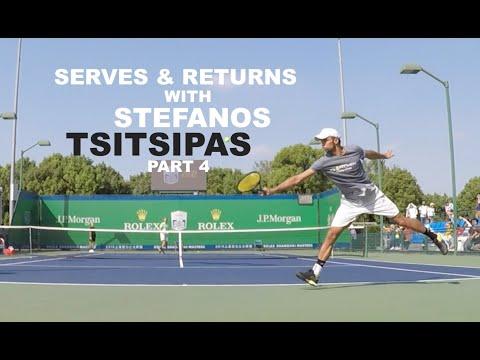 Training With Stefanos Tsitsipas - ATP Masters 1000 Shanghai | Part 4 (TENFITMEN)