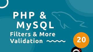 PHP Tutorial (& MySQL) #20 - Filters & More Validation