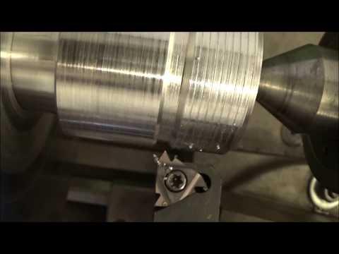 Tornitura Cono Portapinze ER 32 Per Fresatrice [ Turning An ER 32 Collet Chuck For Milling Machine ]