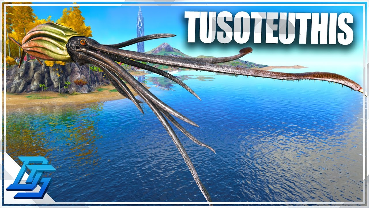 Ark: Survival Evolved - Patch 253 - Tusoteuthis , Cnidaria , Giant Squid!  (released)