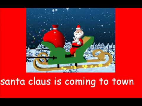 Santa Claus Is Coming To Town   children's version