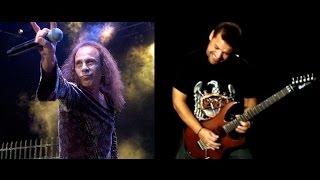 Dio - Holy Diver - Aula de Guitarra - Cordas e Música