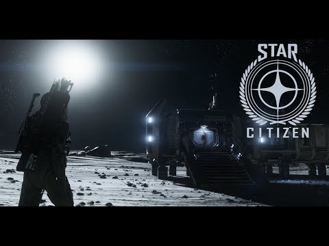 Star Citizen 3.0 - Cellin Outpost w. Prospector - 4K Widescreen