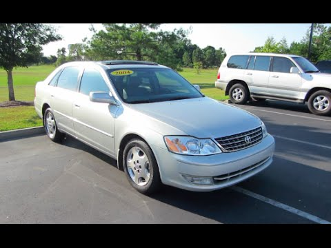 2004 toyota avalon xls full tour start up at massey toyota youtube 2004 toyota avalon xls full tour start up at massey toyota