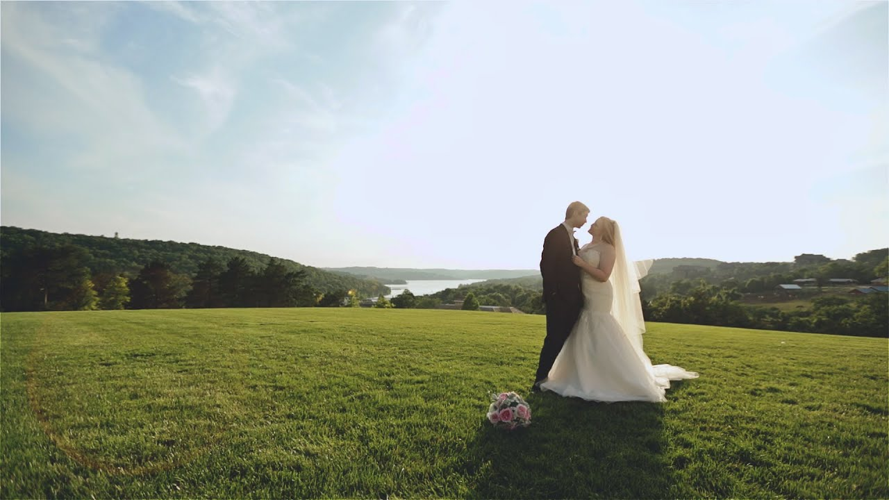big cedar lodge wedding film branson wedding video youtube