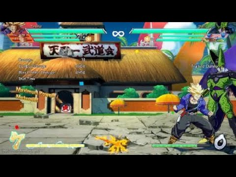 DBFZ Easy Way To Combo Into Trunks Level 3