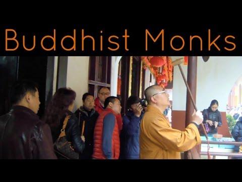 Stoic Monks - Jade Buddha Temple - Shanghai - China