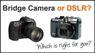 Bridge Camera or Digital SLR?