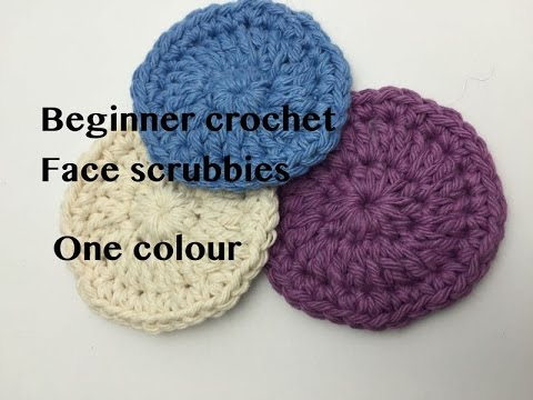 Ophelia Talks About Crochet Face Scrubbies In Cotton Youtube