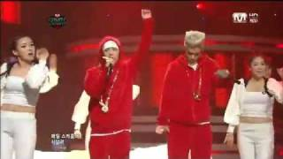 Repeat youtube video [110113] GD&TOP - 'Knock Out' & 'Obsession' on M Countdown