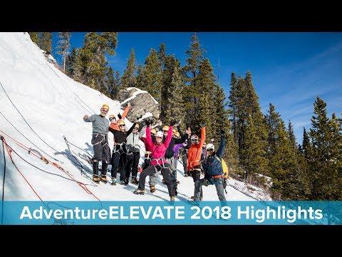 AdventureELEVATE 2018 in Banff, Alberta: Empower Your Edge
