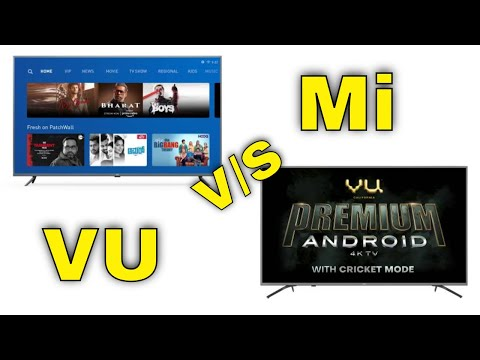 Mi Vs Vu,Which Is The Best Smart Tv In 2020 Compared || In Telugu ||