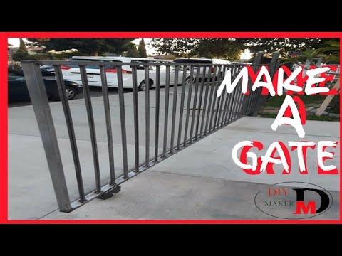 Make sliding gate