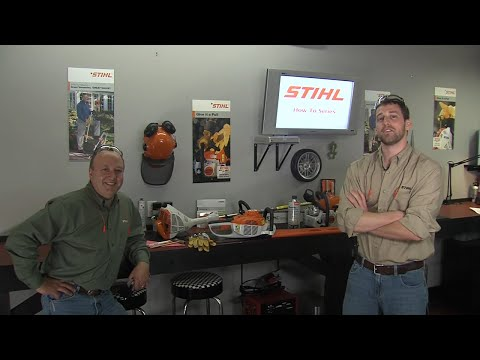 How to Store Your STIHL Gas-Powered Equipment