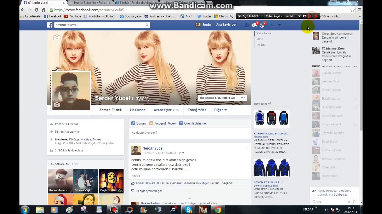 facebook takip hile