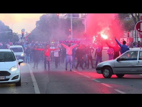 AFP news agency: Football: Marseille fans fight police ahead of PSG game