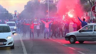 Football: Marseille fans fight police ahead of PSG game