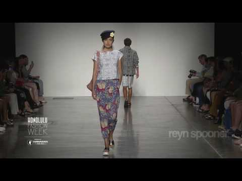Reyn Spooner Runway Show at 2016 HONOLULU Fashion Week presented by Hawaiian Airlines